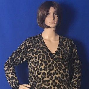 Michael Kors Leopard Sweater (Medium)